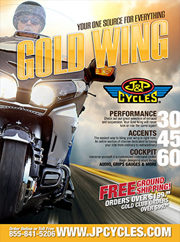 J&P Cycles Gold Wing Catalog
