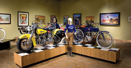 The National Motorcycle Museum in Anamosa, Iowa